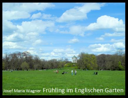 Frühling im EnglischenGarten