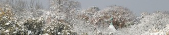 Tivoli im Schnee