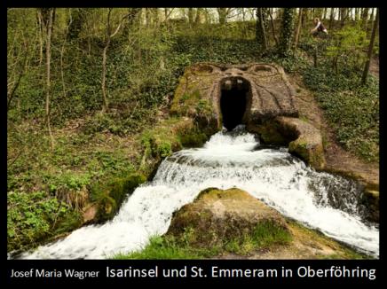 Isarinsel und St. Emmeram in Oberföhring