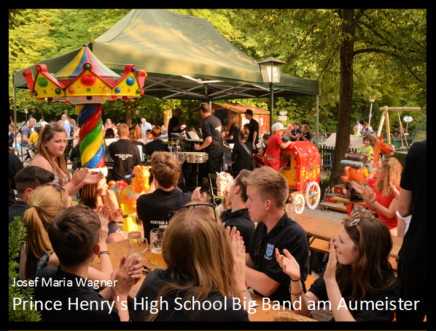 Prince Henry's High School Big Band am Aumeister