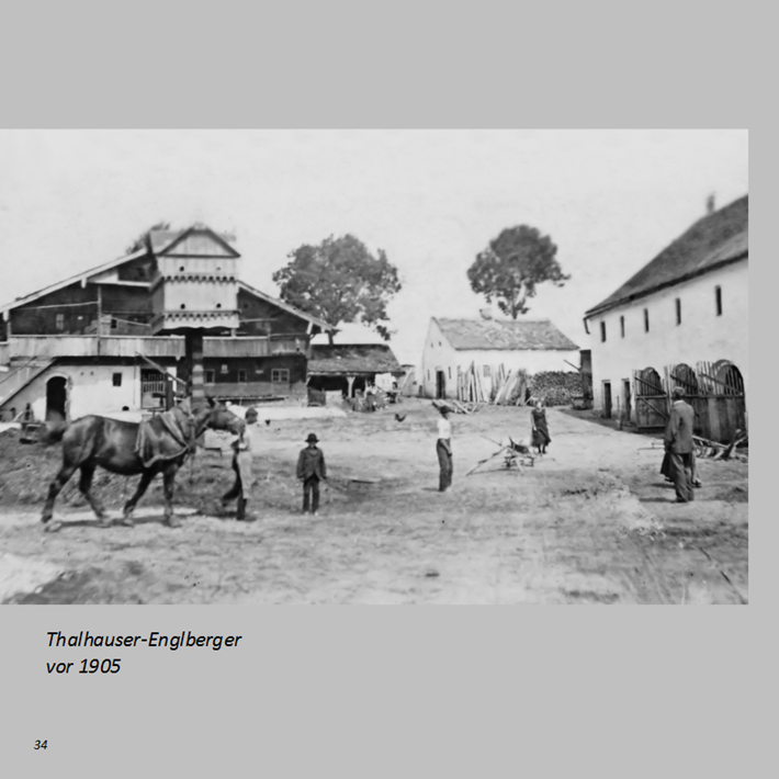Thalhauser-Englberger in Ottmaring vor 1905