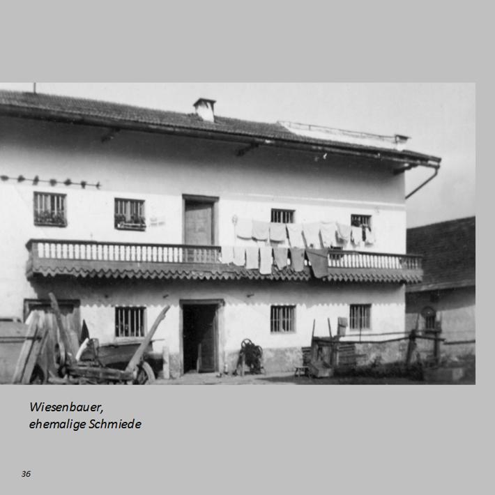 Wiesenbauer, ehemalige Schmiede in Ottmaring
