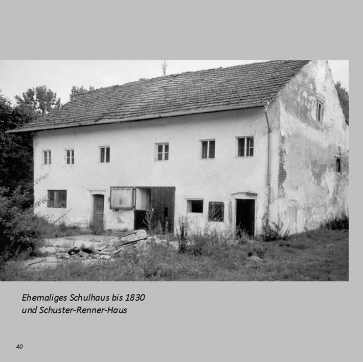 Ehemaliges Schulhaus bis 1830 und Schuster-Renner-Haus in Ottmaring