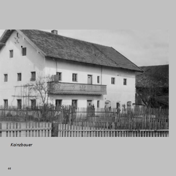 Kainzbauer in Ottmaring
