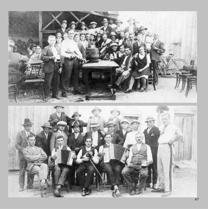 Fest an der Kegelbahn beim Stadlerwirt in Ottmaring