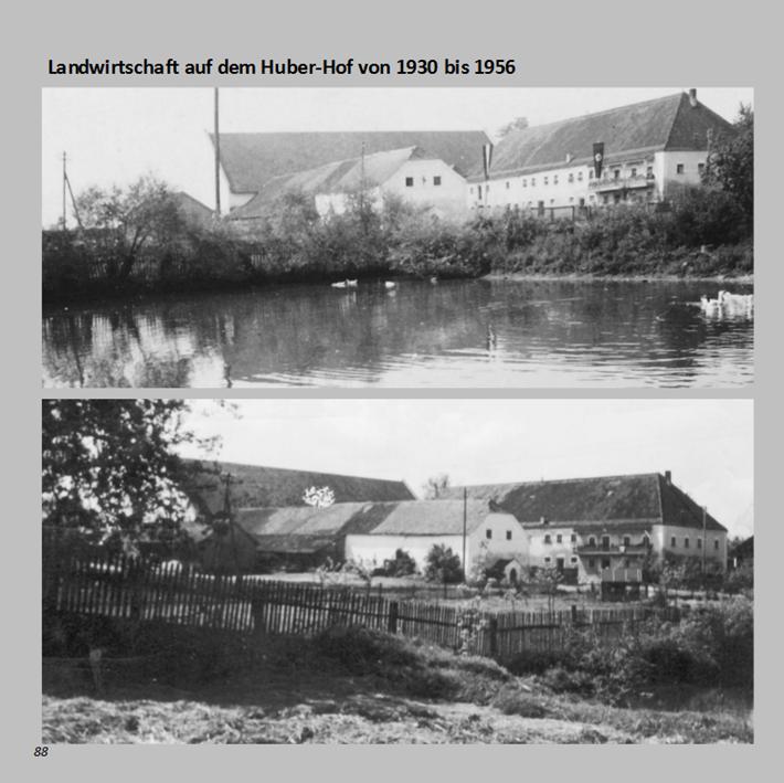 Landwirtschaft am Huber-Hof in Ottmaring von 1930 bis 1956