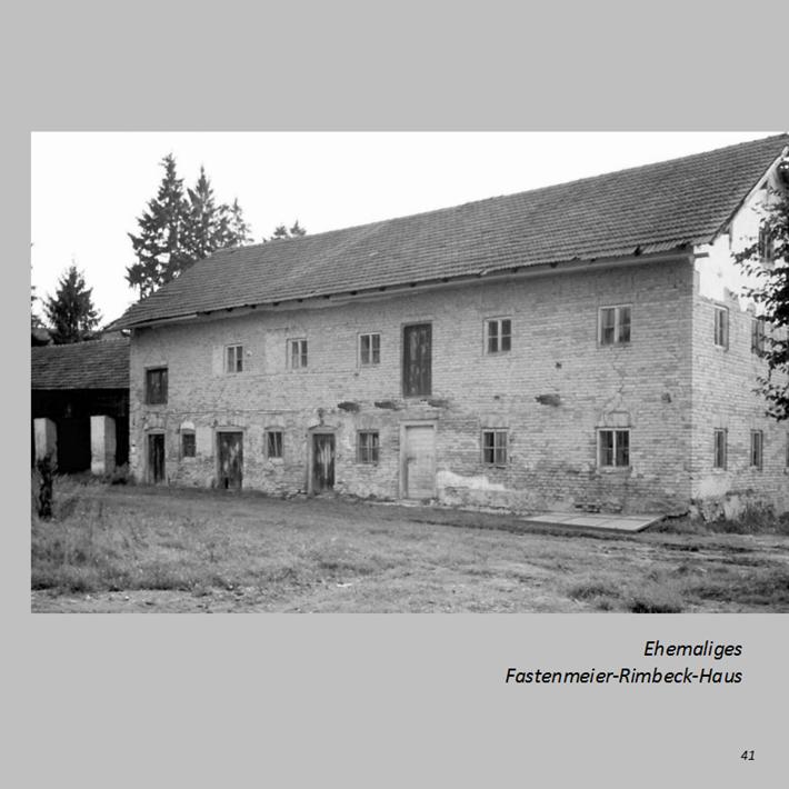 Ehemaliges Fastenmeier-Rimbeck-Haus in Ottmaring