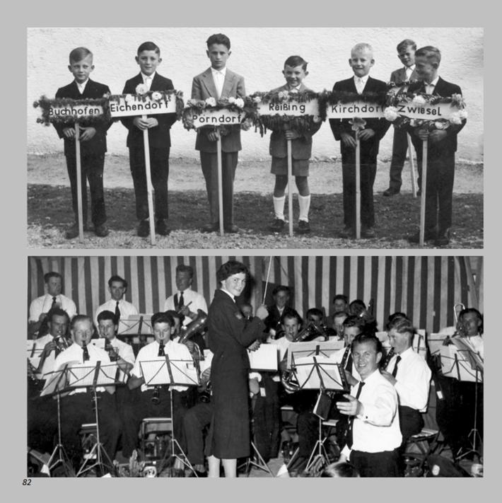 50jähriges Jubiläum des Veteranenvereins in Ottmaring 1959