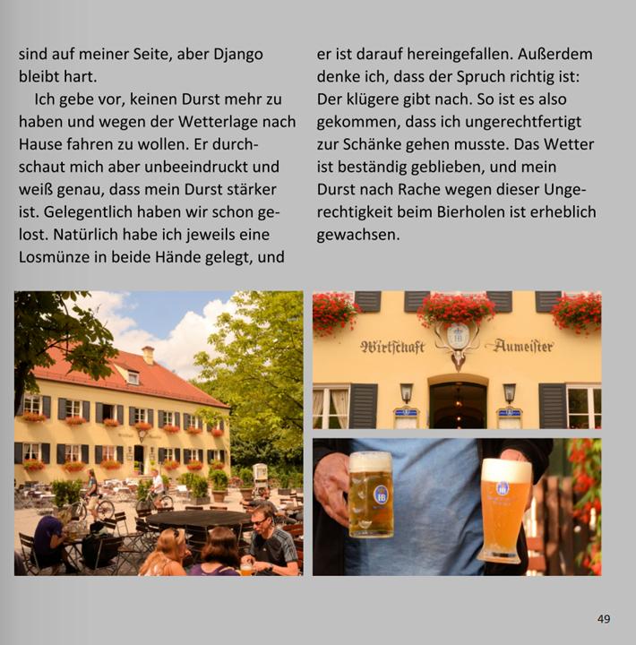 Django und das Bierholen am Aumeister