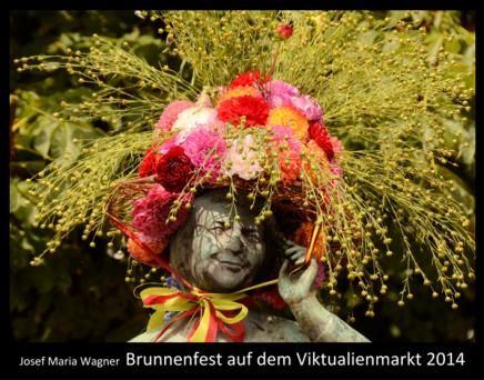 Brunnenfest auf dem Viktualienmarkt2014