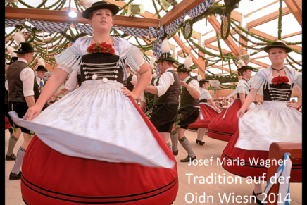 Tradition auf der Oidn Wiesn 2014
