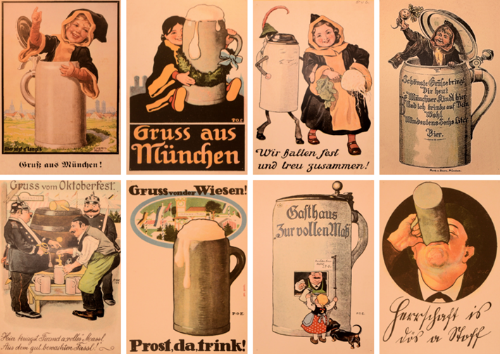 Münchner Postkarten