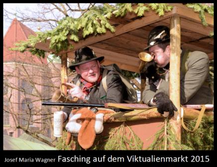 Fasching auf dem Viktualienmarkt2015