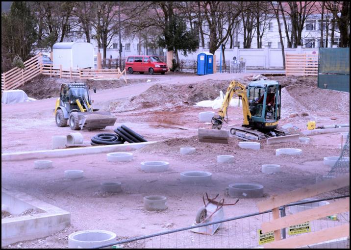 Zerstörung des Tivoli in München
