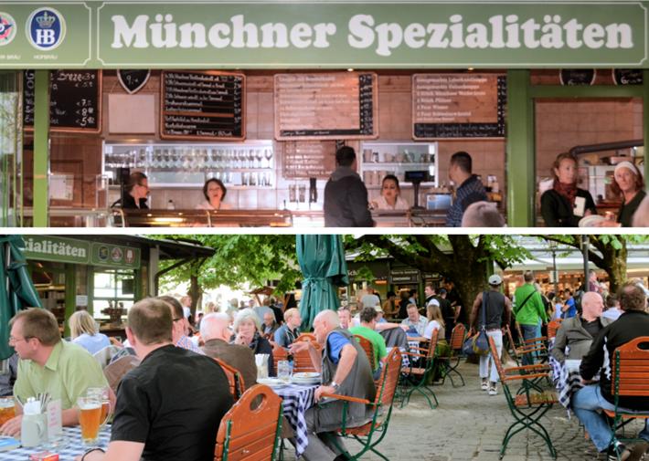 Biergarten Viktualienmarkt