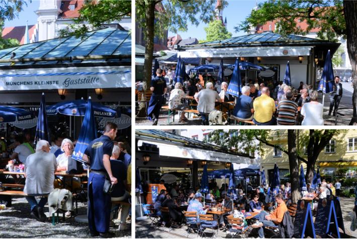 Münchens Kleinste Gaststätte