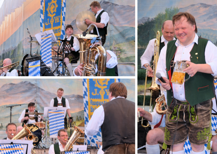 Münchner Oktoberfestmusikanten
