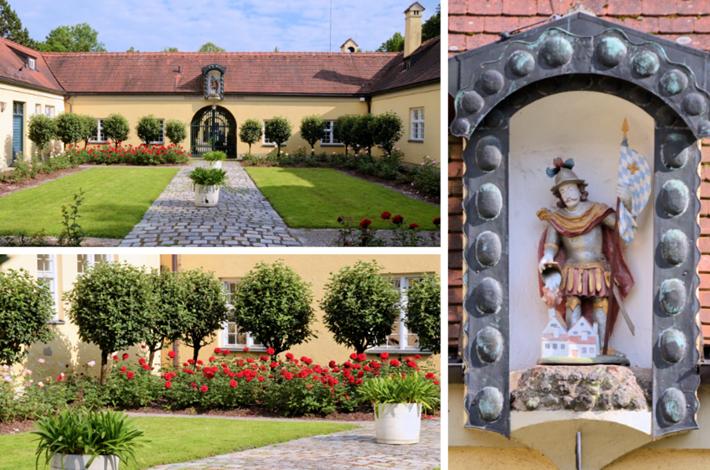 Sankt Florian im Sommerhof der Ökonomie