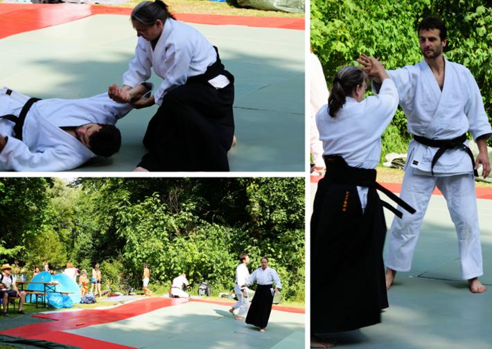 Kampfsport beim Japanfest