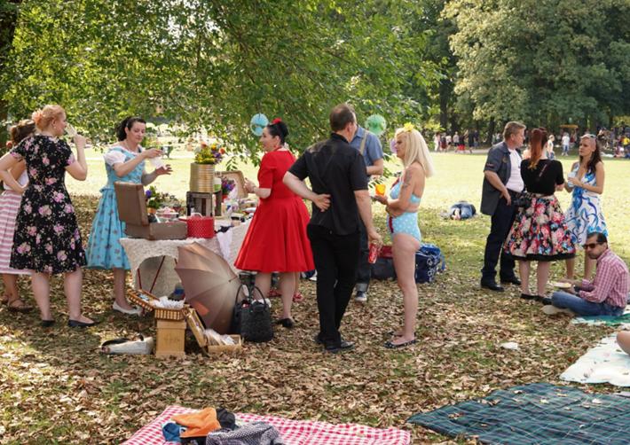 Stilvolles Sommerfest
