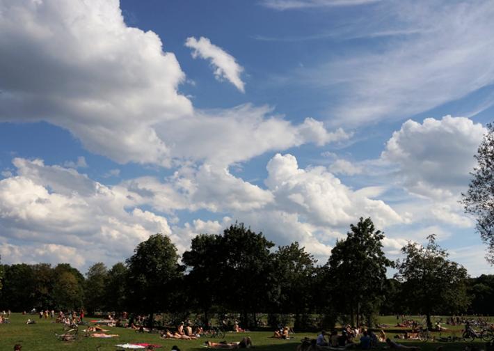 Wolken und Wiesen