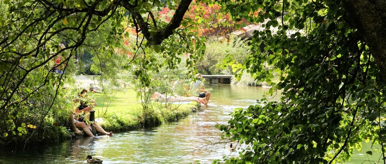 Englischer Garten beim Japanischen Teehaus