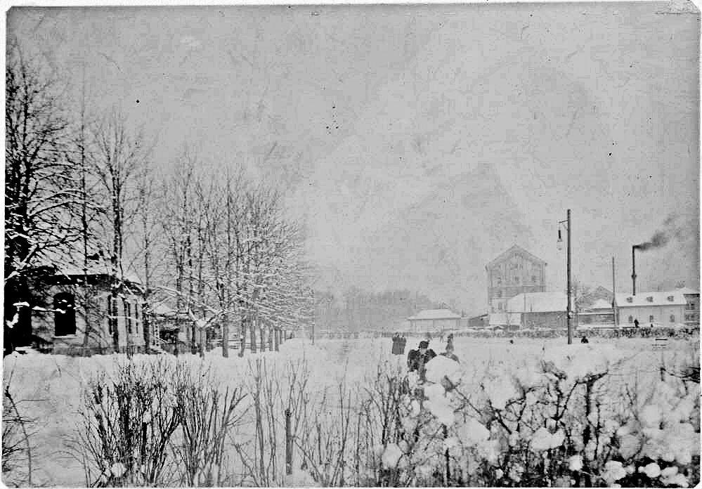 Eislaufplatz am Tivoli 1895