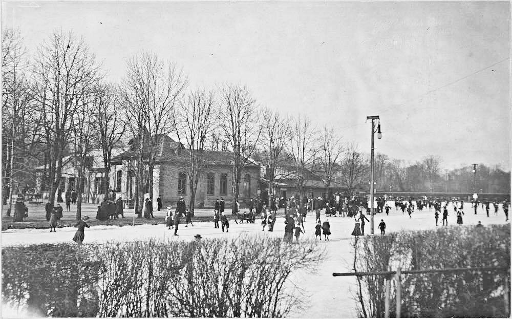 Eislaufplatz am Tivoli 1910