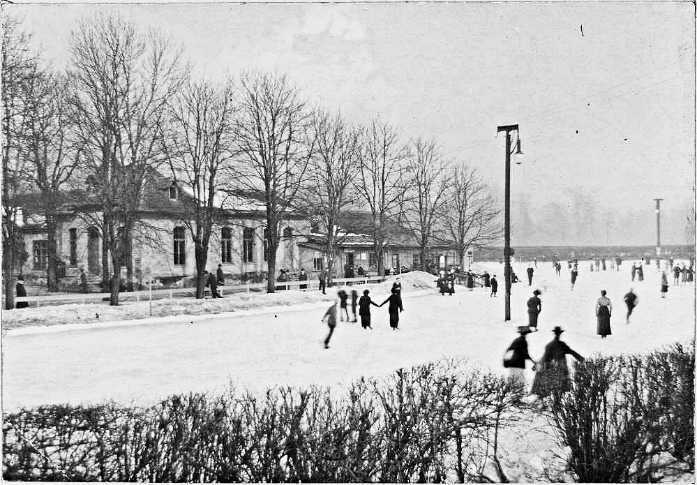 Eislaufplatz am Tivoli 1900