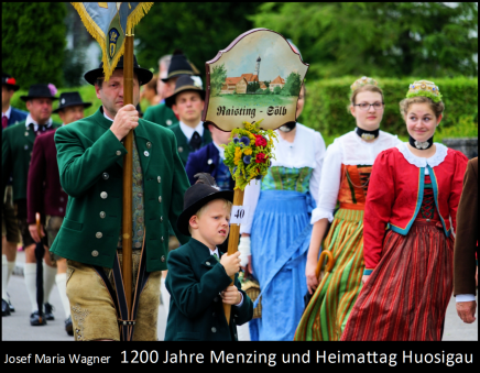 1200 Jahre Menzing und HeimattagHuosigau