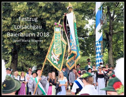 Festzug Loisachgau Baierbrunn2018