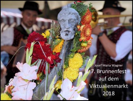7. Brunnenfest auf dem Viktualienmarkt2018