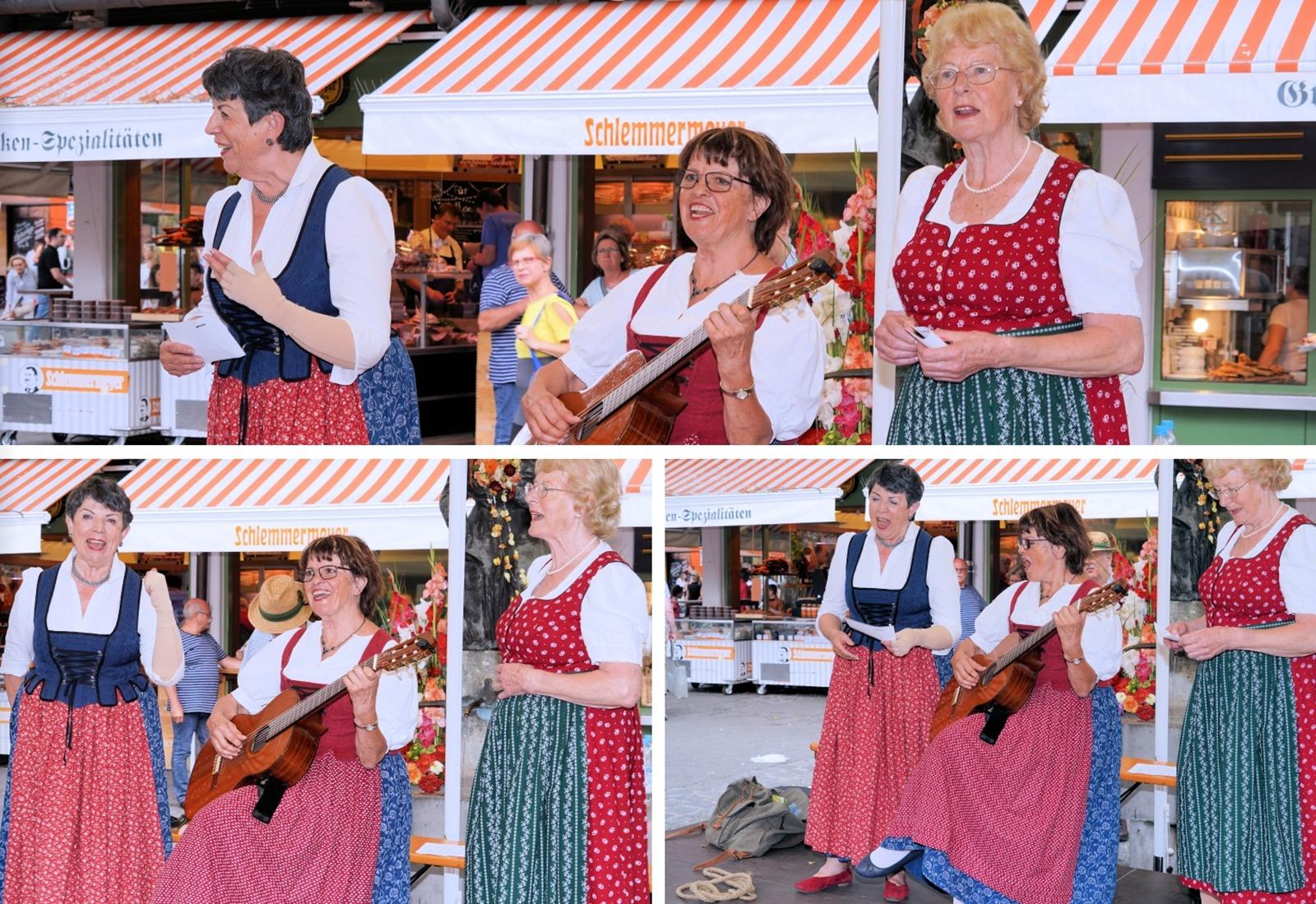 Quittengsangl mit Carmen Kühnl, Christl Paretzke und Cläre
