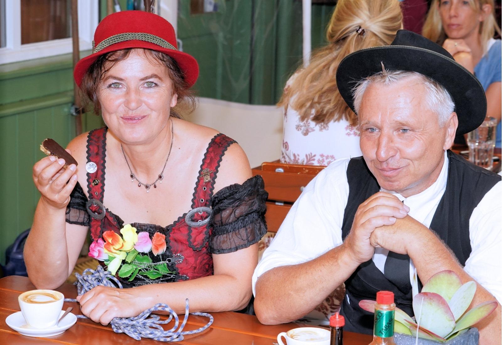 Isarschiffer mit Doro und Rainer Berauer