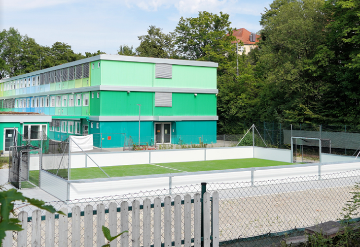 Bolzplatz, Fußball-Kleinfeld, Soccer-Five-Platz