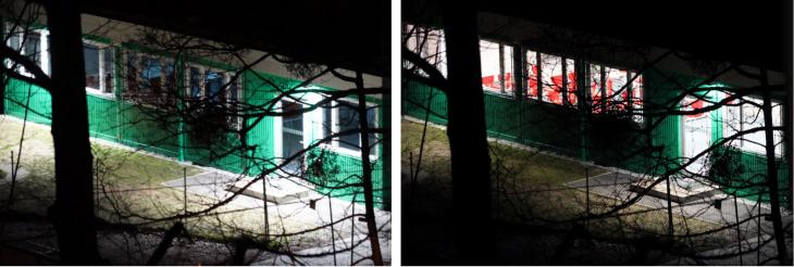 Lichtverschmutzung und Energieverschwendung am Tivoli