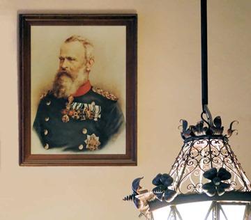 Prinzregent Luitpold im Königreich Bayern und in der Hohen Schwemme des Hofbräuhauses