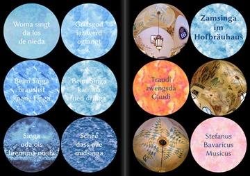 Liederheftl vom Bavaricus mit dem schönen Titel: Zamsinga im Hofbräuhaus
