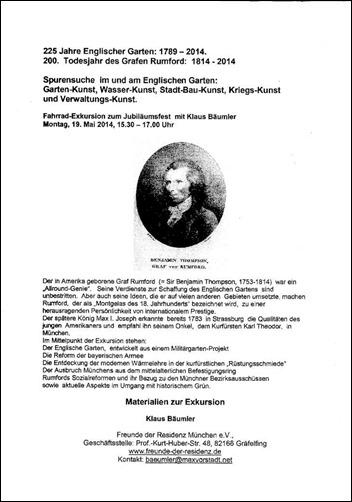 Klaus Bäumler - 225 Jahre Englischer Garten