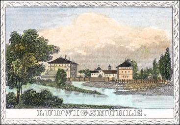 Johann Gabriel Friedrich Poppel, Georg Franz - Ludwigsmühle - 1846
