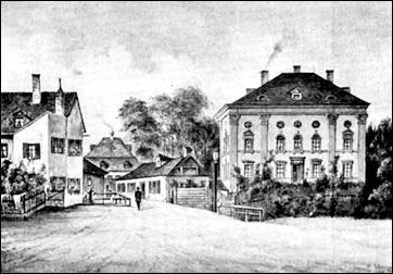 Paradiesgarten vor dem Abriss 1894