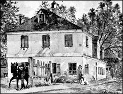 Gastwirtschaft zum Himmelreich, abgebrochen 1901