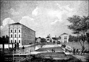 Kgl. priv. Ludwigs-Walzmühle, jetzt Kunstmühle Tivoli