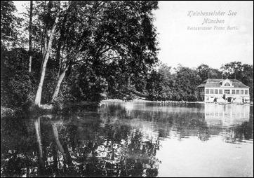 Kleinhesseloher See - 1905
