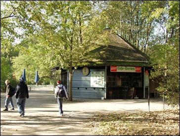 Tivoli Pavillon 2003 mit der Bezeichnung Cafe-Garten