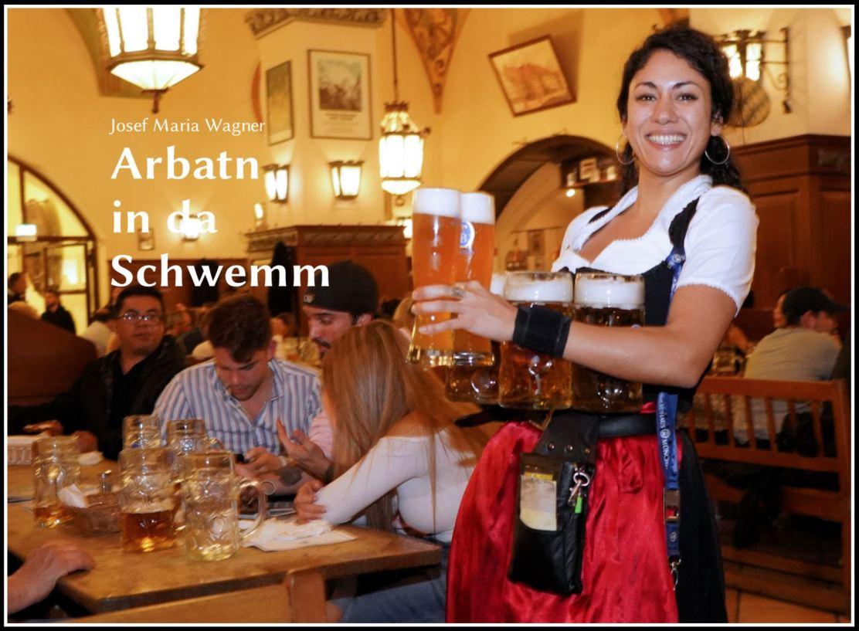 Kellnerin in der Schwemme des Münchner Hofbräuhauses