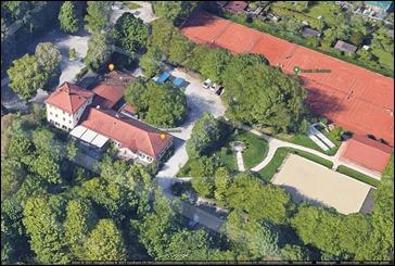 Restaurant, Biergarten, Spiel- und Sportanlagen in der Hirschau